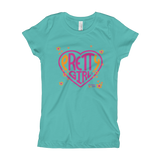 Girl's T-Shirt- pRETTy girl