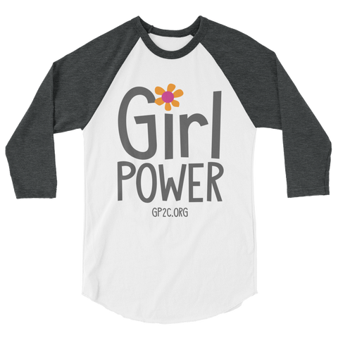 3/4 Sleeve Shirt- GIRL POWER
