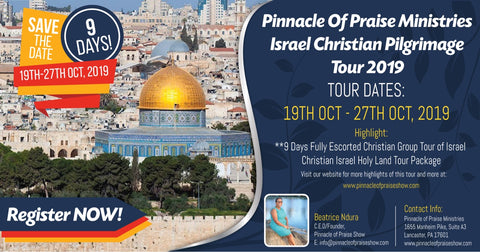Pinnacle of Praise Holy Land Tour 2019