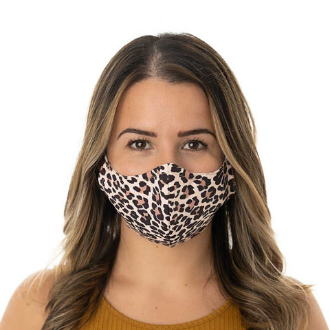 Women Face Mask- Adjustable with nose wire