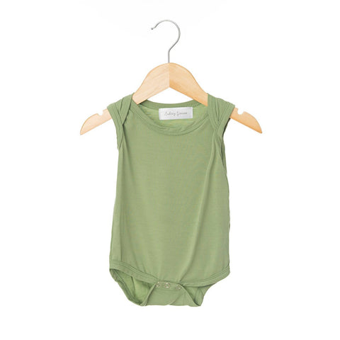 Avocado Sleeveless Bodysuit