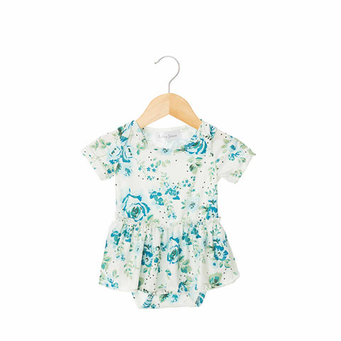 Lilly Short Sleeve Skirted Bodysuit