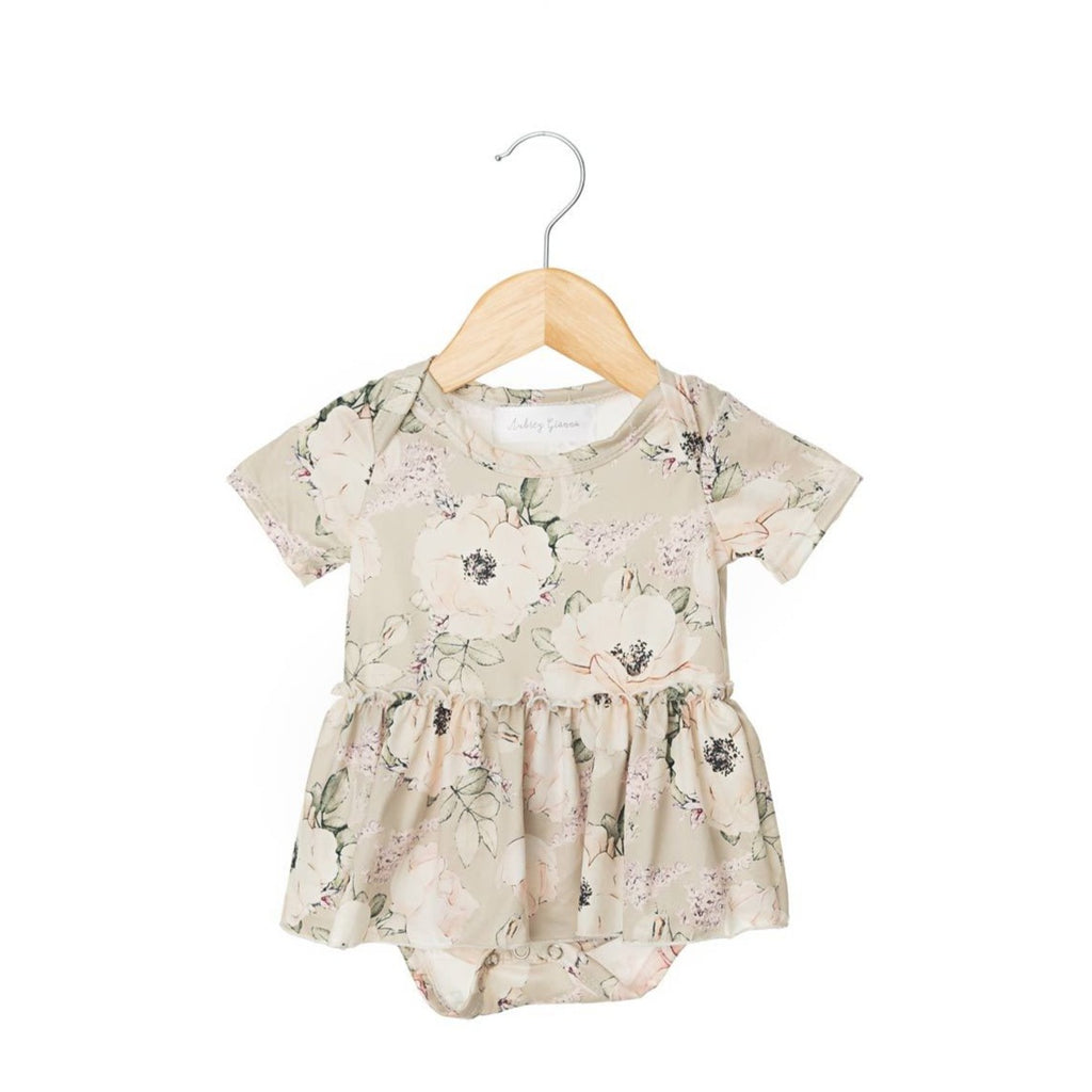 Chloe Short Sleeve Skirted Bodysuit