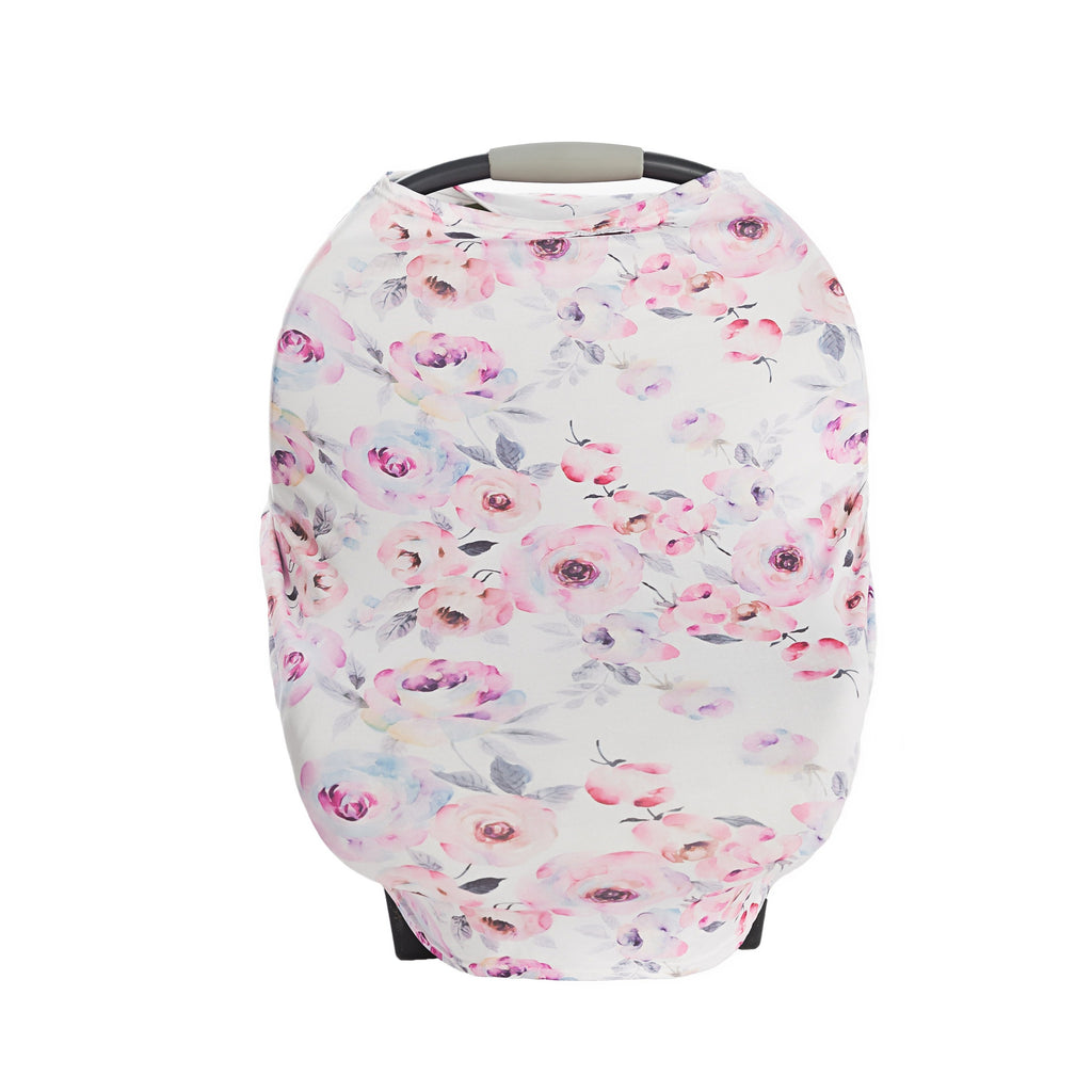 Winter Rose Collection 3 In 1 Car Seat Cover