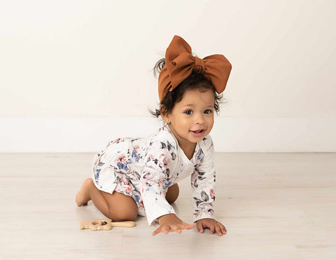 Audrey Long Sleeve Skirted Bodysuit