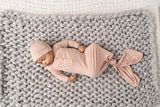 Dusty Pink Bamboo Newborn Bundle Gift Set
