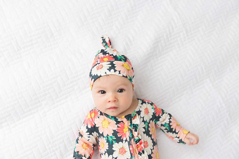 Ella Top Knot Hat