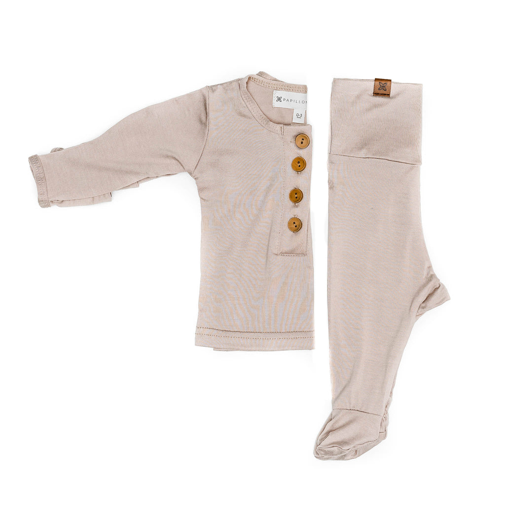 Baby Top & Bottom set- Fawn