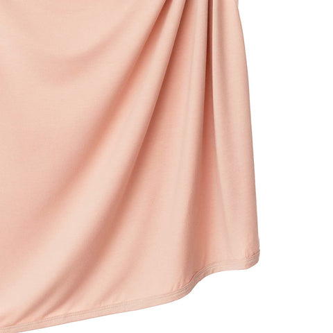 Dusty Pink Bamboo Swaddle Blanket