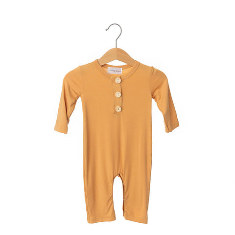 Honey Button Bamboo Romper