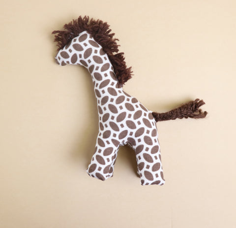 Handmade Stuffed Giraffe- 100% donation.
