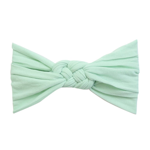 Sailor Knot Nylon Headband- Mint