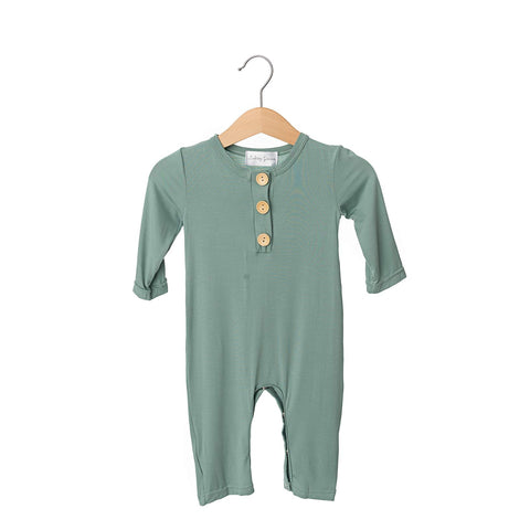 River Button Bamboo Romper