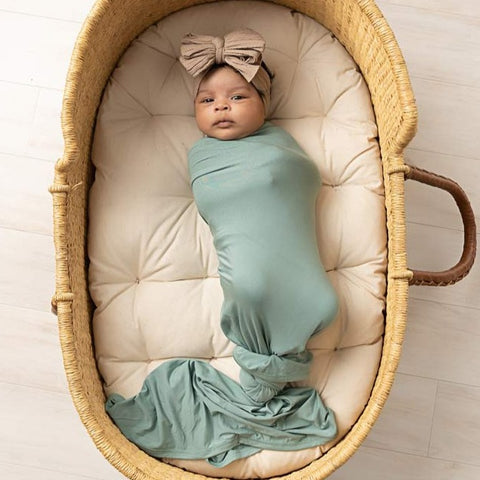 River Bamboo Swaddle Blanket
