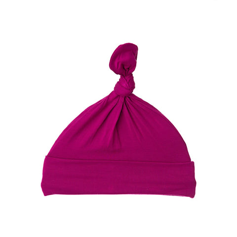 Winterberry Bamboo Top Knot Hat