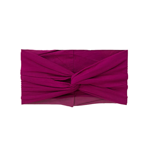 Winterberry Bamboo Twist Turban