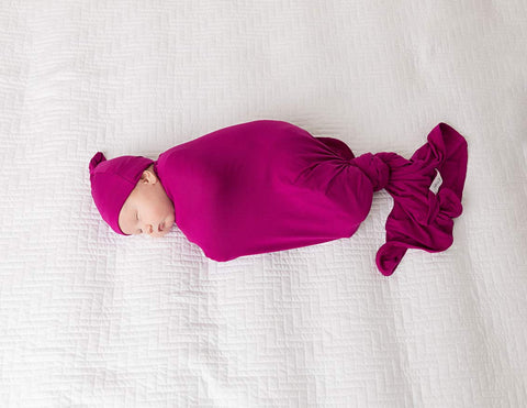 Winterberry Bamboo Swaddle Blanket