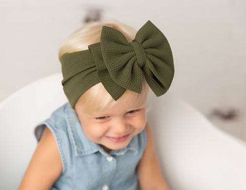 Abby Bow Headwrap