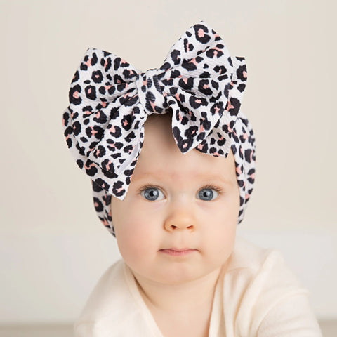 Abby Bow Headwrap- Prints