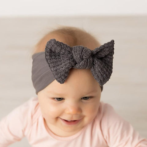Juliet Sweater Bow Nylon Headband