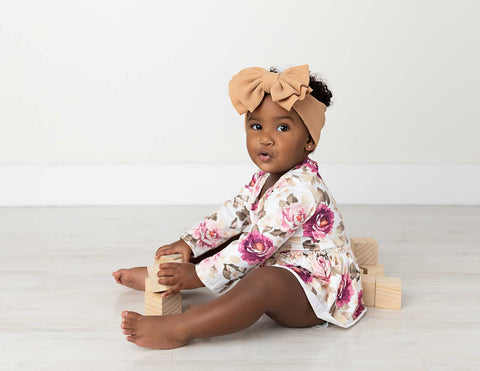 Madison Long Sleeve Skirted Bodysuit