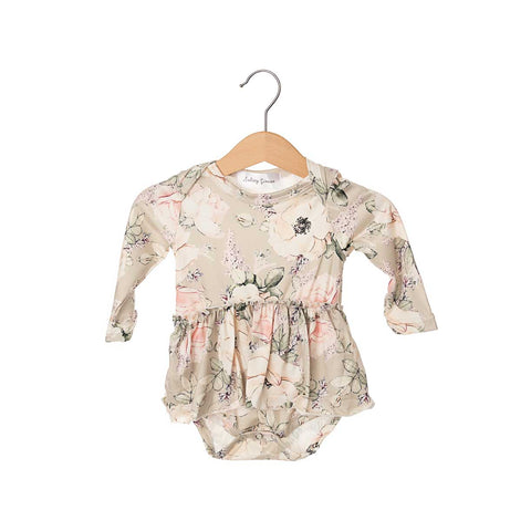 Chloe Long Sleeve Skirted Bodysuit