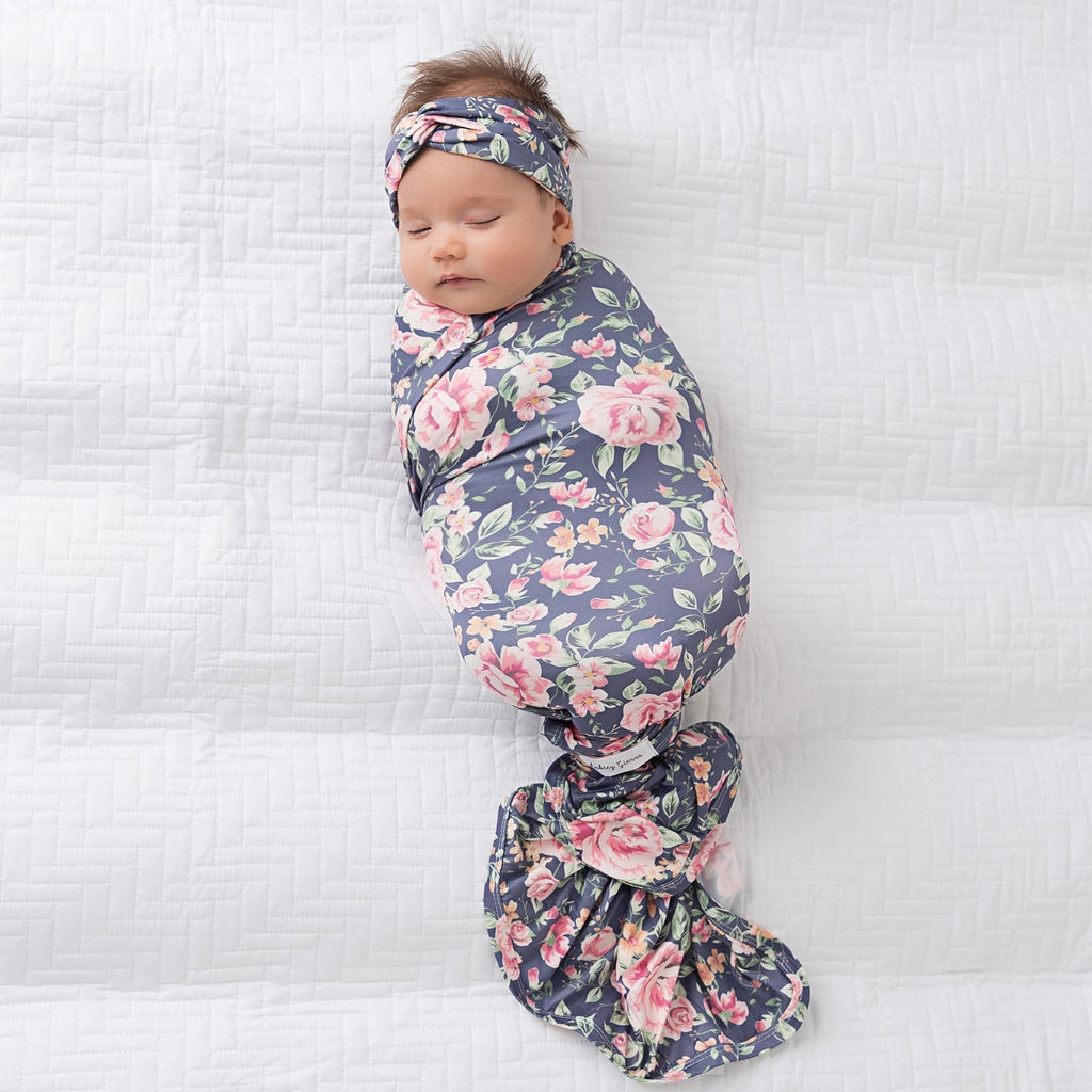 Brook Collection Swaddle Blanket