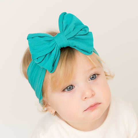 Messy Bow Nylon Headwrap (Final Sale)