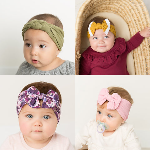 Set of 10 Discounted Defected Headbands