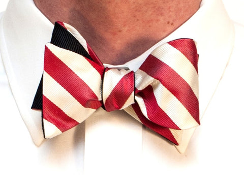 English Silk Repp Bow Tie ONLY