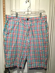 JACK WILLS GINGHAM BERMUDA SHORTS