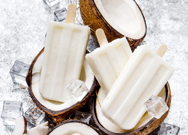 Easy Coconut Popsicles