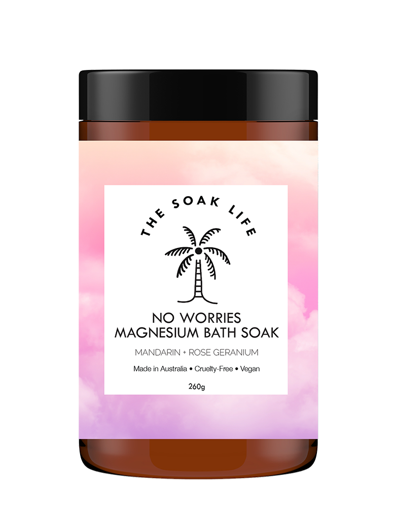 No Worries Magnesium Bath Soak