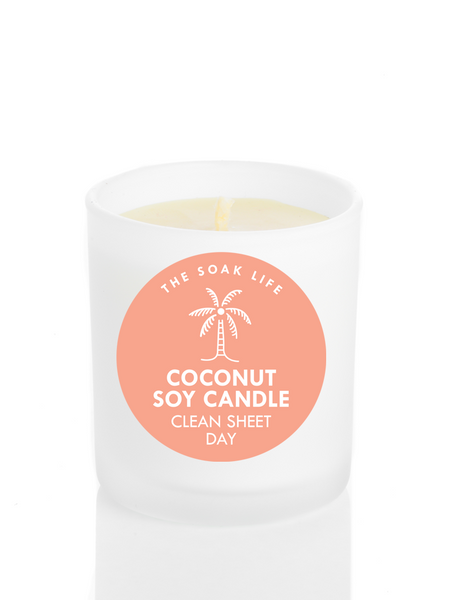 Clean Sheet Day Coconut Soy Wax Candle