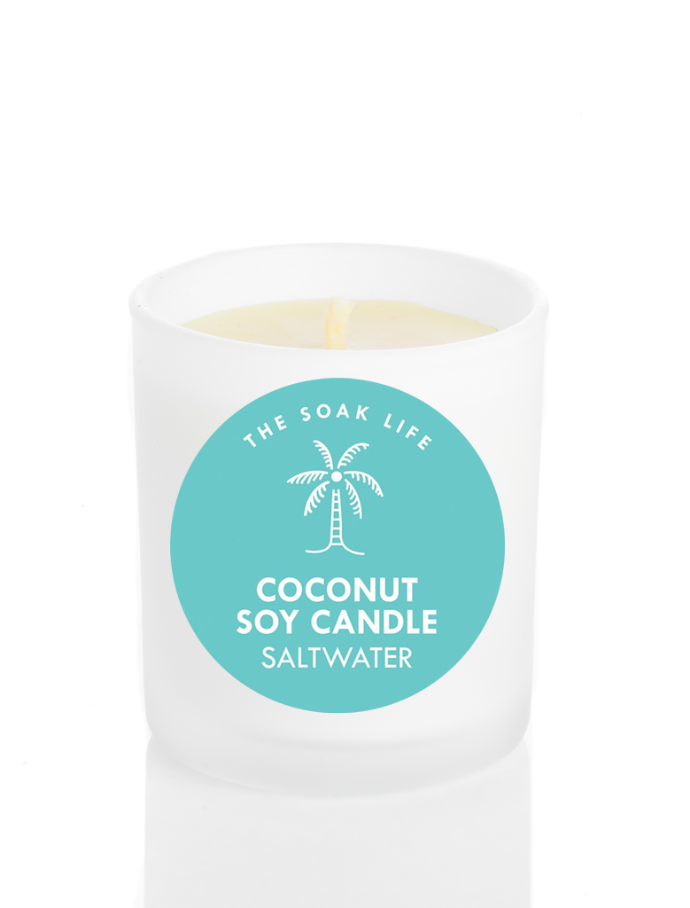 Saltwater Coconut Soy Wax Candle