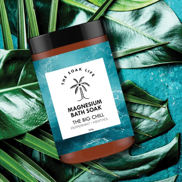 The Soak Life - The Big Chill Magnesium Bath Soak
