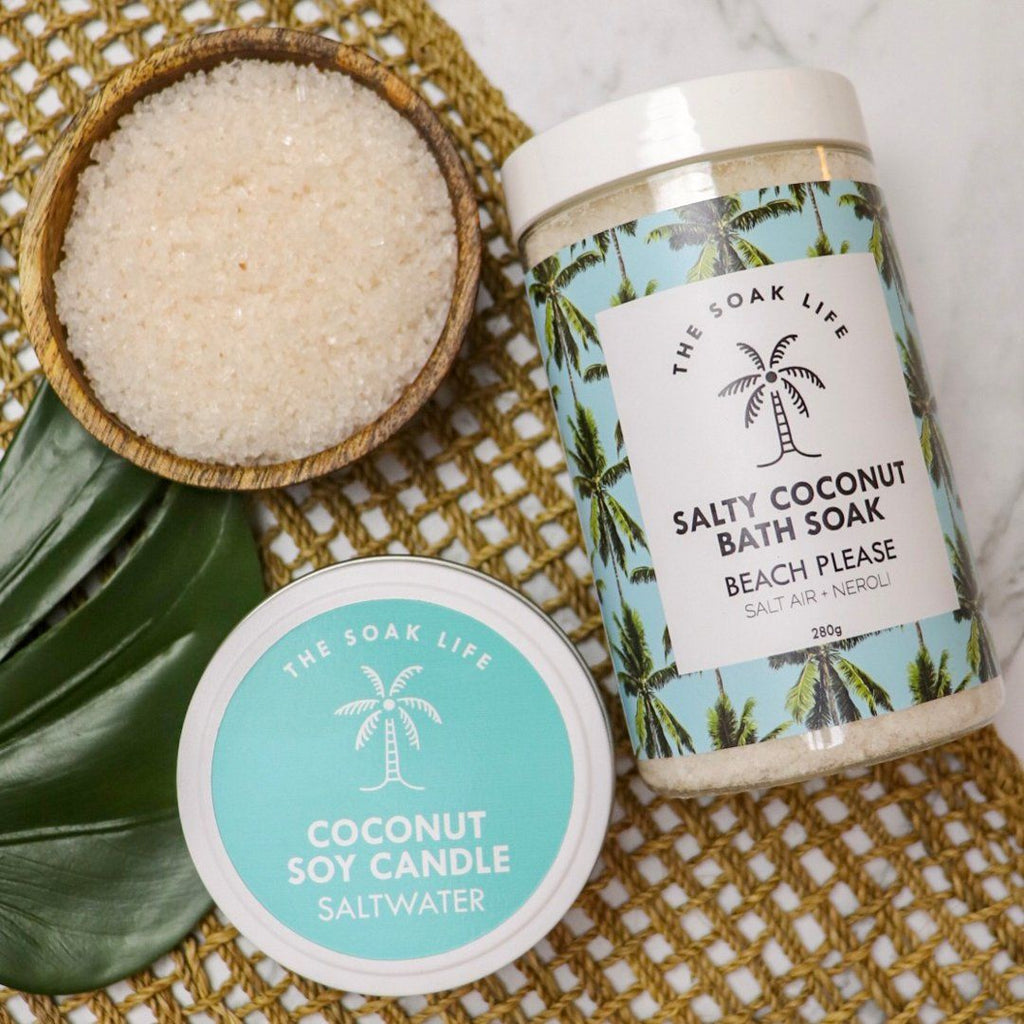 Beach Please Salty Coconut Bath Soak
