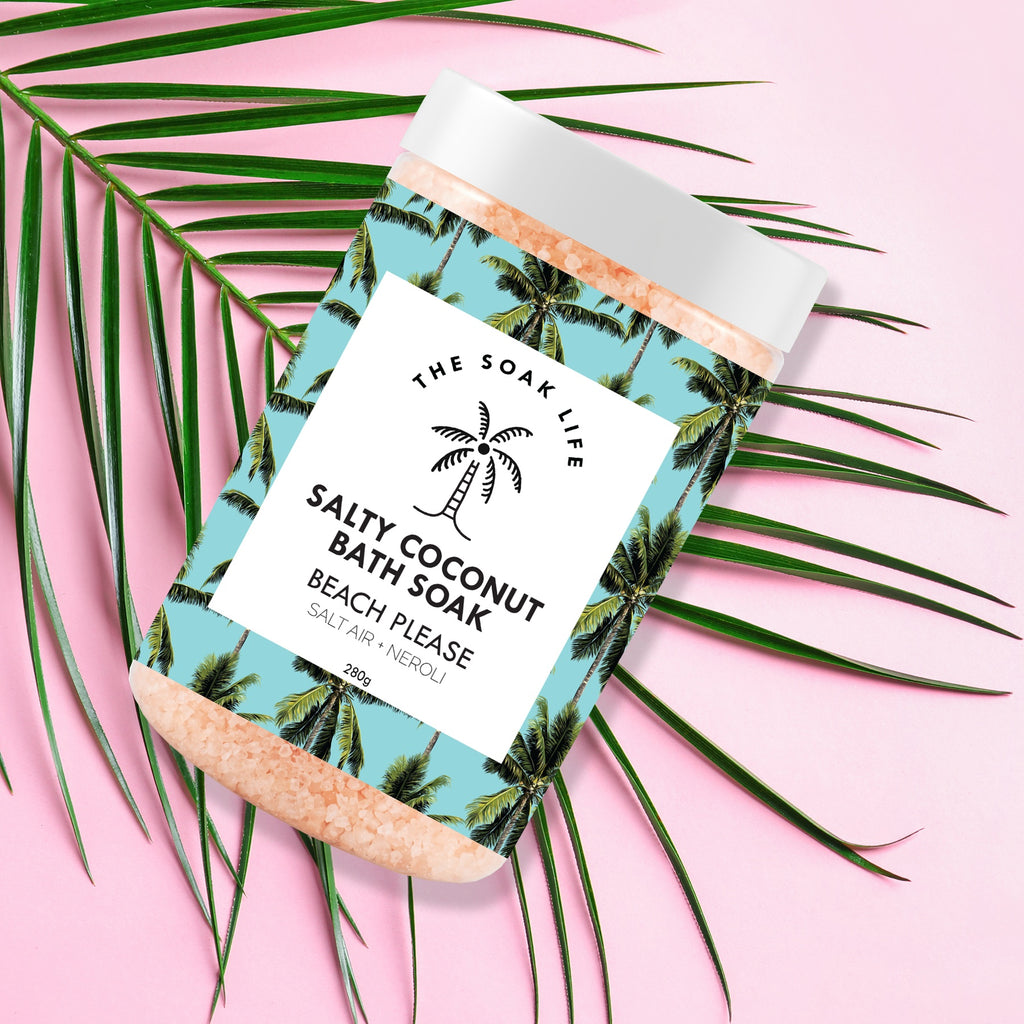 Bath Soak - Beach Please Salty Coconut Bath Soak