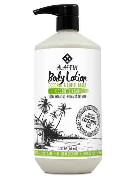 The Soak Life Body Lotion - Alaffia Everyday Coconut Body Lotion - Coconut Lime
