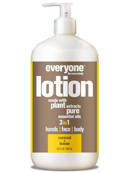 Body Lotion - EVERYONE 3 In 1 Lotion - Coconut + Lemon