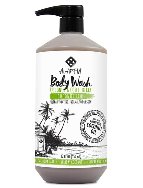 The Soak Life Body Wash & Soap - Alaffia Everyday Coconut Body Wash - Coconut Lime