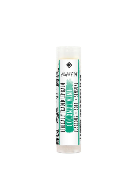 The Soak Life Lip Balm - Alaffia Everyday Coconut Lip Balm - Coconut Mint