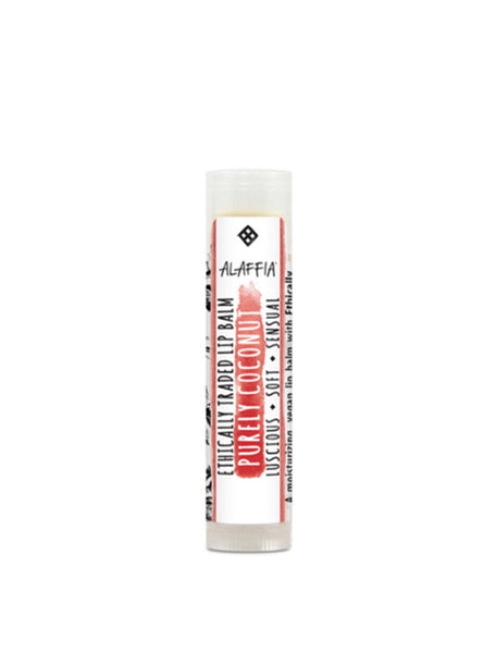 The Soak Life Lip Balm - Alaffia Everyday Coconut Lip Balm - Purely Coconut