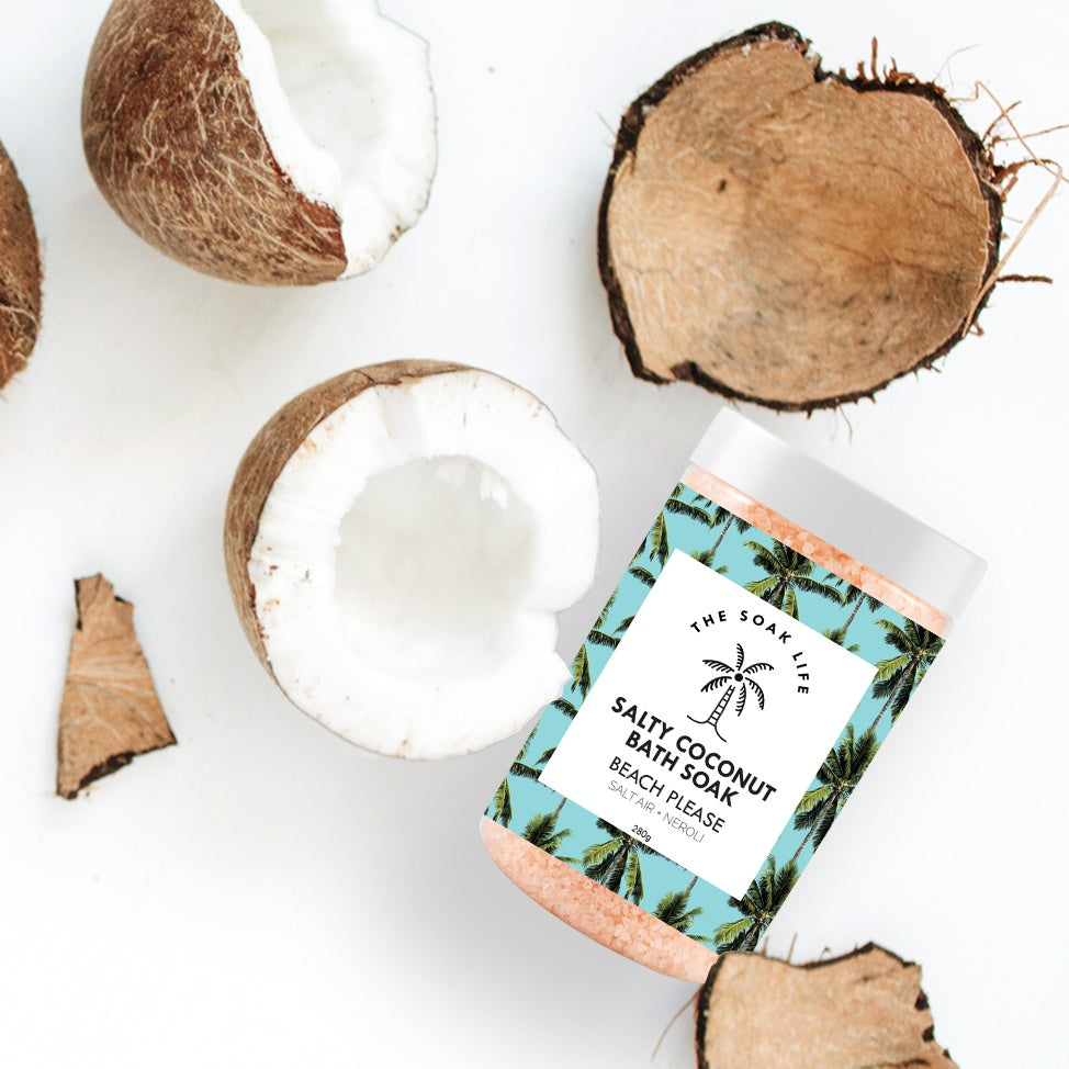 The Soak Life-Bath Salts - Beach Please Salty Coconut Bath Soak