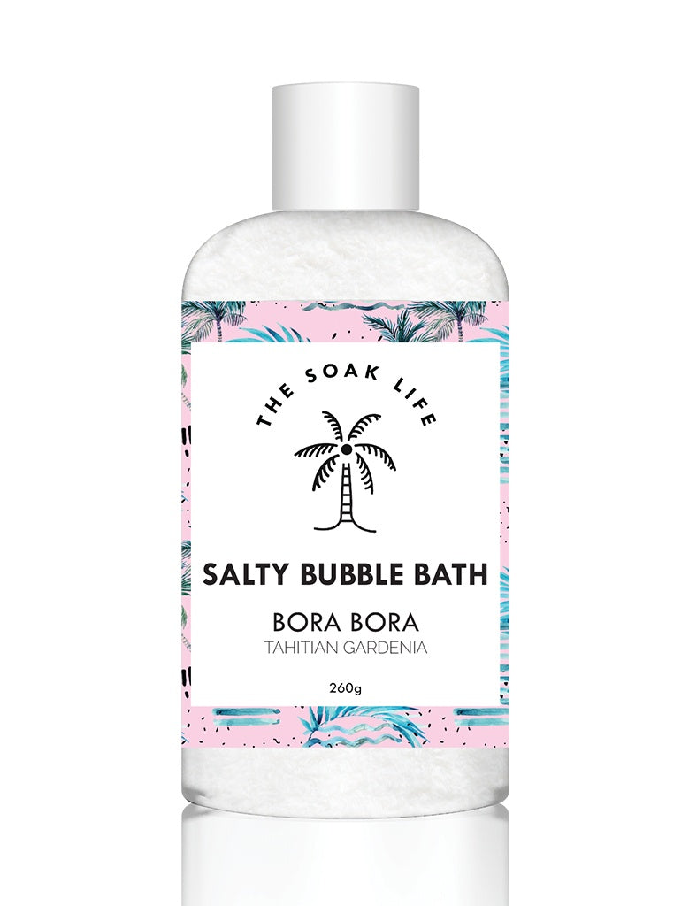The Soak Life - Bora Bora Salty Bubble Bath