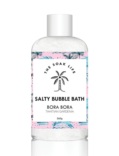 The Soak Life Bora Bora Salty Bubble Bath | Natural Ingredients | Vegan | Made in Australia