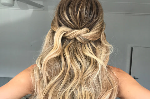 5 Quick-Fix Easy Hairstyles Using Halo Hair Extensions