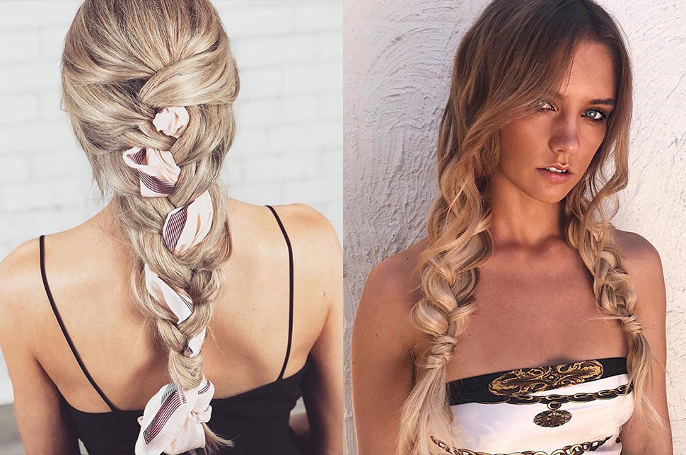 How To Do Braids With Halo Hair Extensions Sitting Pretty
