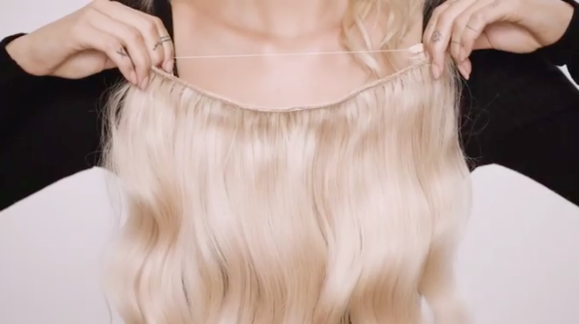 How often should i wash my clip in hair extensions