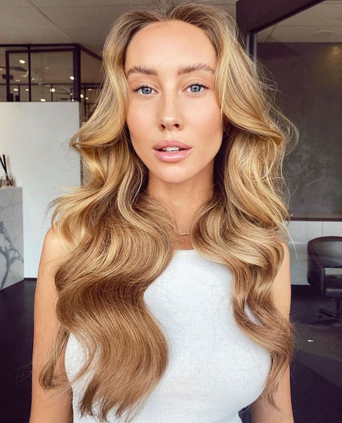 hairstyles for thin hair blonde halo hair extensions